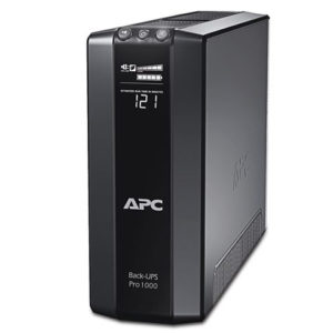 APC Power-Saving Back-UPS Pro 1000 with LCD Display | 1KVA APC UPS