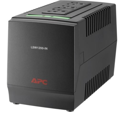 APC Line-R 1200VA |AVR | LSW Series Voltage Regulators | LSW1200-IN