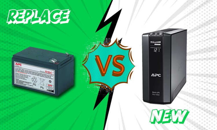 Should you replace your battery or buy a new UPS?